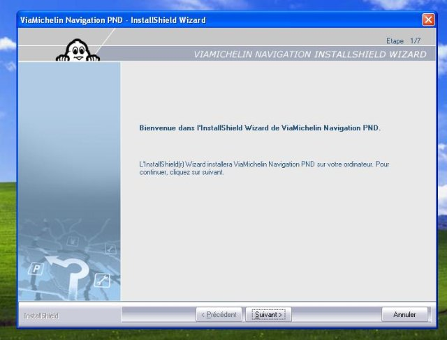 logiciel viamichelin navigation 7